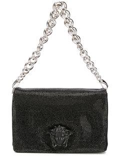 сумка на плечо Sulthan с кристаллами Swarovski Versace