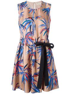 платье с принтом деревьев Emilio Pucci