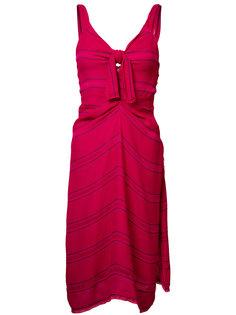 платье в тонкую полоску Proenza Schouler
