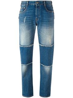 джинсы бойфренды с панельным дизайном Stella McCartney