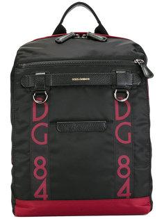 рюкзак с логотипом Dolce & Gabbana
