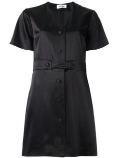 платье-рубашка с V-образным вырезом Courrèges