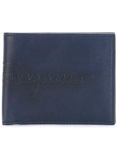 бумажник с тиснением Salvatore Ferragamo