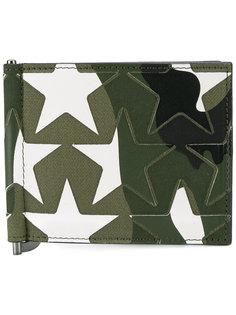 кошелек с зажимом для купюр Valentino