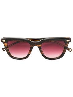 солнцезащитные очки с бордовыми линзами Oamc