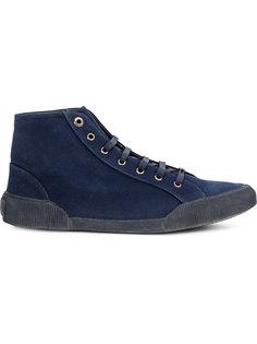 холщовые кроссовки Lanvin