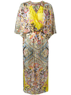 пляжное платье с запахом Etro