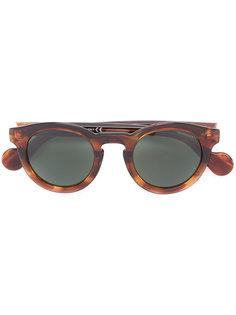 солнцезащитные очки с эффектом черепашьего панциря Moncler Eyewear