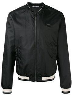 куртка-бомбер на молнии Dolce & Gabbana