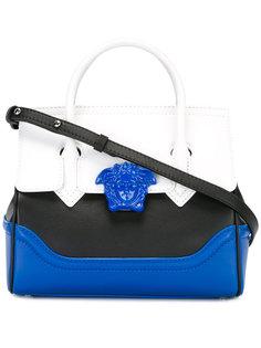 сумка-сэтчел дизайна колор-блок Versace