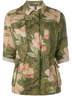 блузка с цветочным принтом Moncler