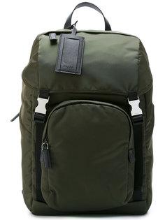 рюкзак с двумя креплениями Prada