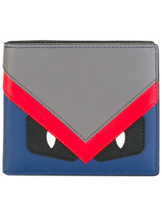 кошелек для карт с глазами Fendi