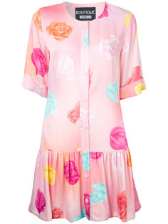 платье с цветочным рисунком Boutique Moschino