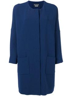пальто свободного кроя Boutique Moschino