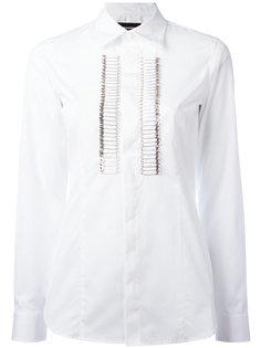 рубашка с отделкой булавками спереди Dsquared2