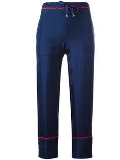 брюки с завышенной талией Moncler