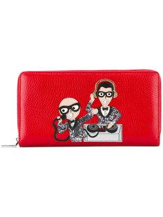 кошелек с аппликацией cartoon Dolce & Gabbana