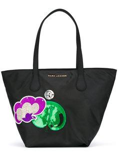 сумка-тоут с нашивками Marc Jacobs