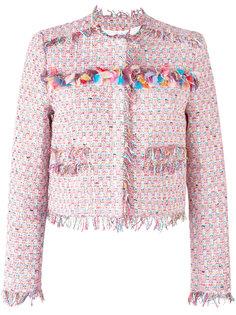 твидовый пиджак  MSGM