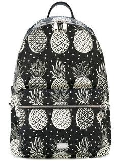 рюкзак с принтом ананасов Dolce & Gabbana