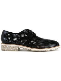 ботинки-дерби с сетчатой выделкой Diego Vanassibara