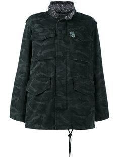 камуфляжная объемная куртка Marc Jacobs