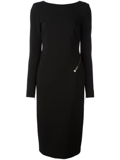 платье миди с открытой спиной Tom Ford