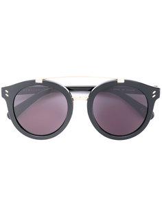 солнцезащитные очки с круглой оправой Stella Mccartney Eyewear
