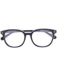 овальные очки  Stella Mccartney Eyewear