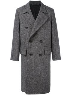 длинное двубортное пальто  Ami Alexandre Mattiussi