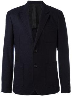 пиджак на двух пуговицах с частичной подкладкой Ami Alexandre Mattiussi