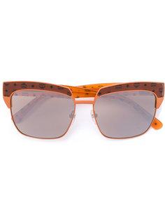 солнцезащитные очки с принтом логотипа MCM