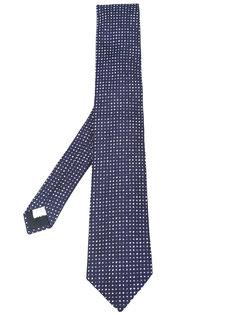 галстук с принтом в горошек Lardini