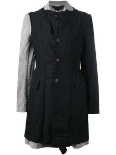 пальто с оборкой  Comme Des Garçons Comme Des Garçons