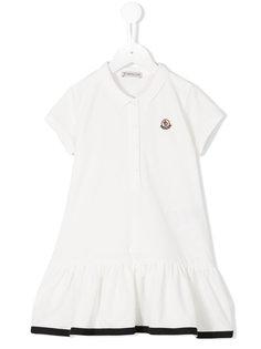 платье-поло с баской Moncler Kids