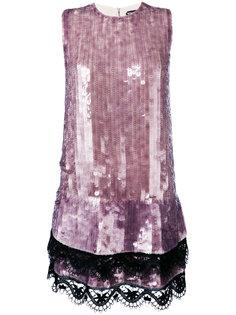 платье шифт с пайетками  Tom Ford