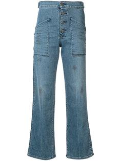 расклешенные джинсы Worker с завышенной талией Rta