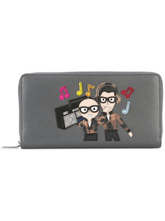 кошелек с нашивкой Dolce & Gabbana