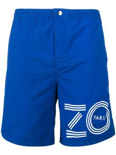 пляжные шорты с логотипом  Kenzo