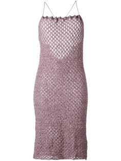 трикотажное платье на бретельках Vivienne Westwood