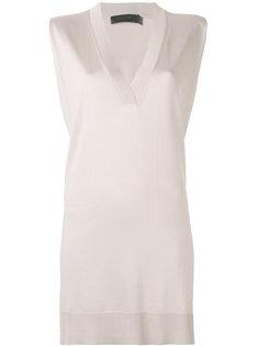 блузка свободного кроя Calvin Klein