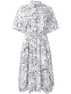 платье-рубашка Sketches Kenzo