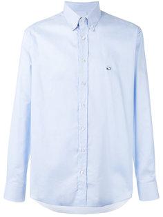рубашка с вышитым логотипом  Etro