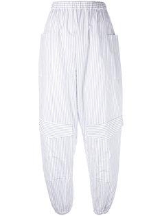 полосатые брюки-шаровары Chalayan