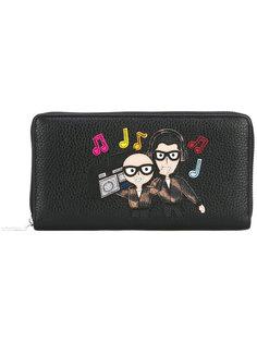 кошелек с нашивкой Designers Dolce & Gabbana