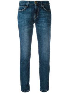 укороченные прямые джинсы  Current/Elliott