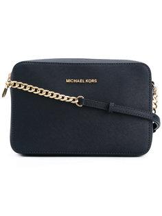 сумка через плечо с бляшкой с логотипом Michael Michael Kors
