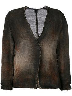 окрашенный трикотажный пиджак  Avant Toi