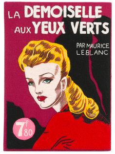клатч-книга La Demoiselle Aux Yeux Verts Olympia Le-Tan